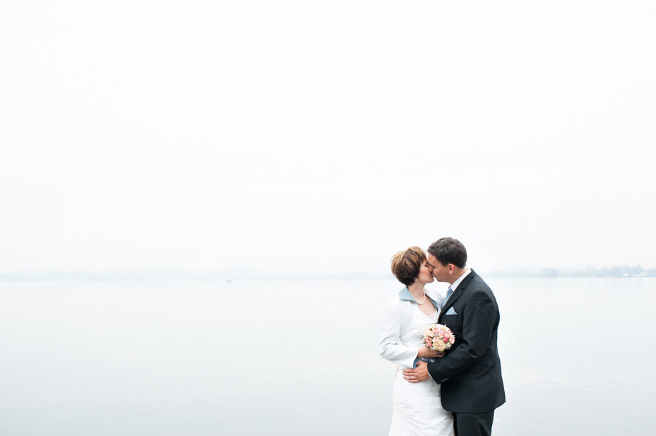 Wedding by Zug Lake